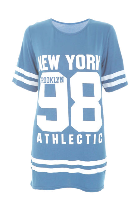 Plus Size Denim New York 98 Oversize T-Shirt