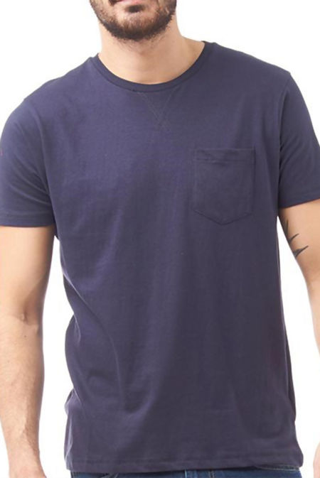 Navy Short Sleeve Summer T-Shirt