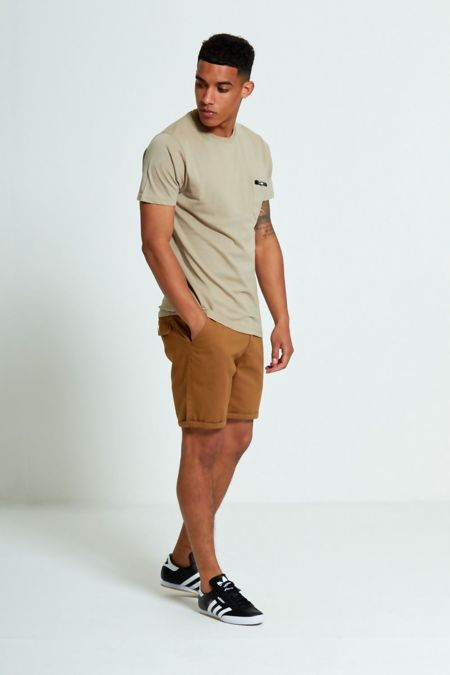 Zip Detail Chest Pocket T-Shirt