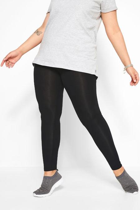 Plus Size Fleece Lined Leggings Size 5XL-6XL
