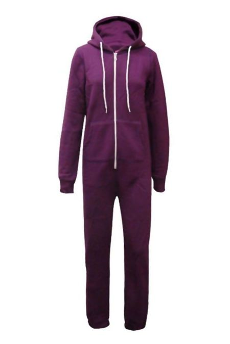 Purple Plain Onesie