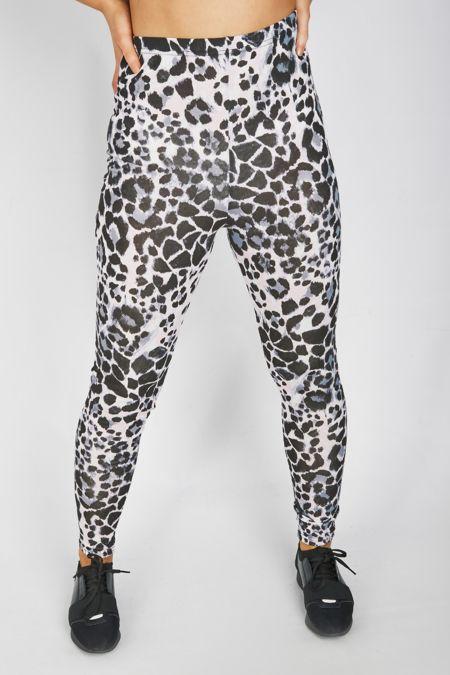 Pink Leopard Print Legging