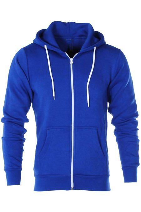 Royal American Fleece Zip Up Hoody Jacket