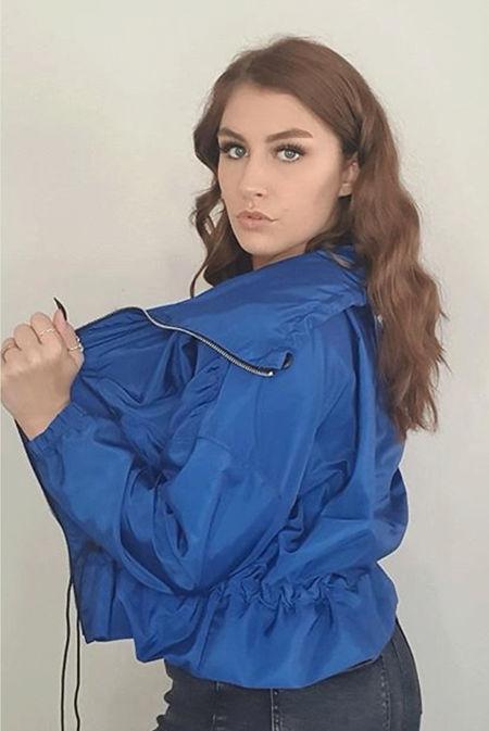 Royal Hooded Festival Jacket