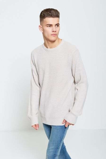 Stone Fine Knit Jumper