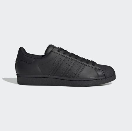 All Black Adidas Originals Superstar