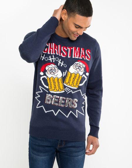 Ho Ho Ho Beers Christmas Jumper Pre-Order