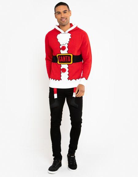 Red Santa Costume Christmas Jumper Pre-Order