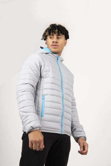 Lightweight Padded Hooded Jacket