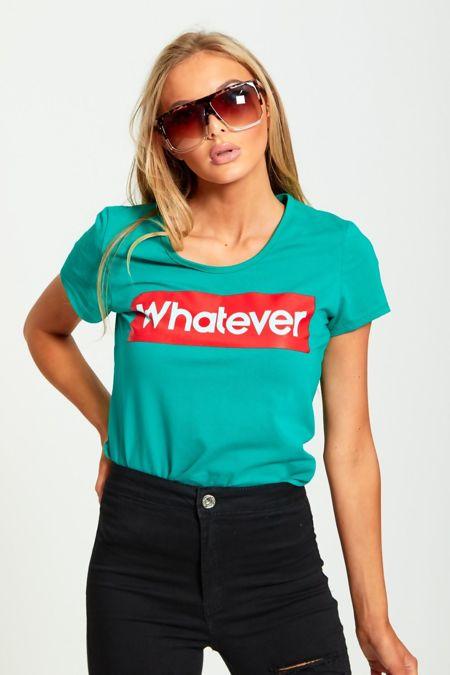 Whatever Slogan T-Shirt