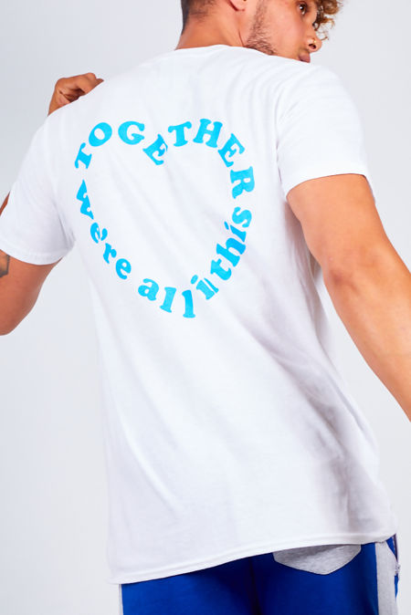White NHS Together Basic Tee
