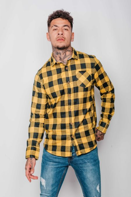 Yellow Jack Checked Shirt