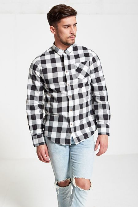 White Jack Checked Shirt