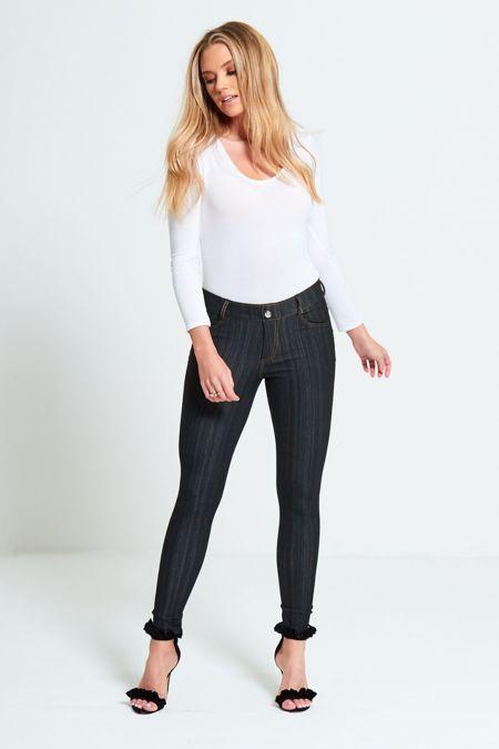 Black Skinny Jegging Jeans