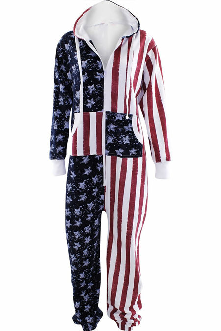 Kids USA Flag Onesie