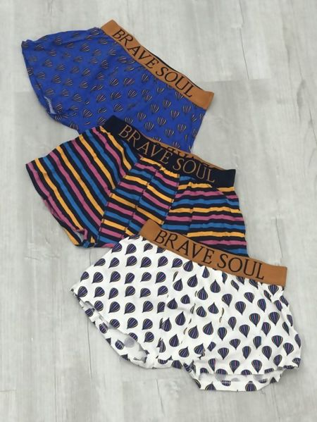 Multicolour Printed Brave Soul Boxer Shorts