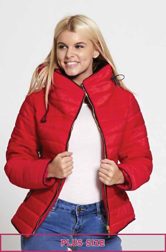 Plus Size Padded Coats | Plus Size Quilted Jackets | Evans