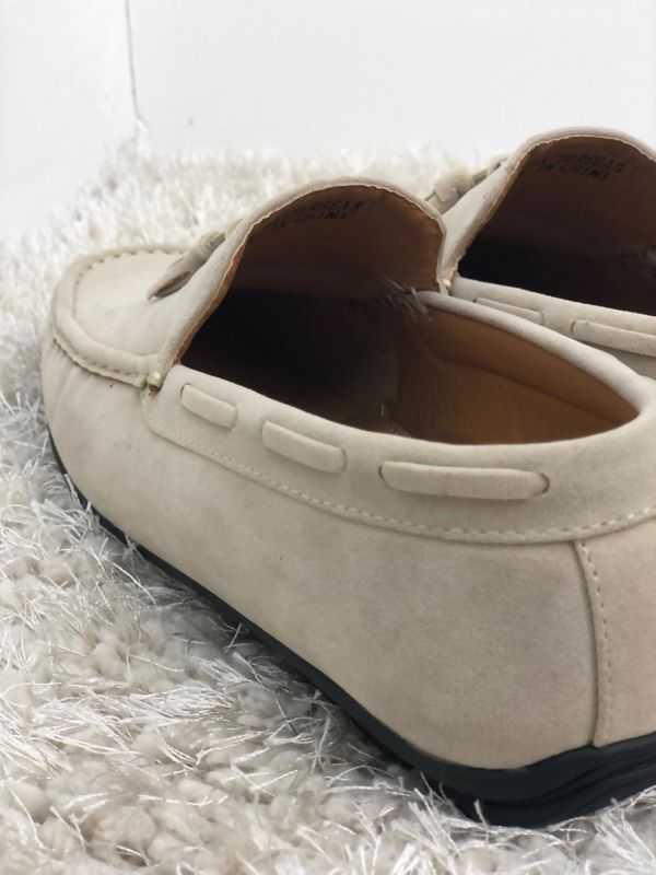 Beige Driving Shoes