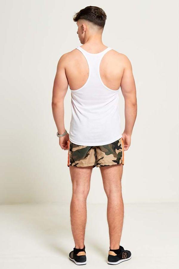White Basic Vest