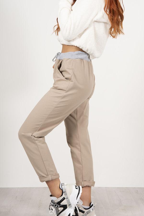 Urban Turn Up Hoop Trouser