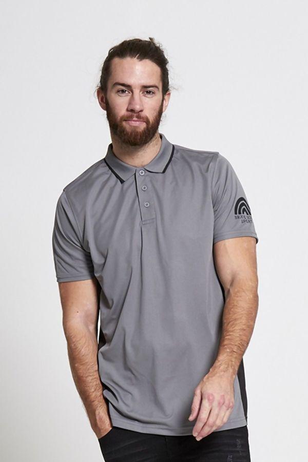 Blue Sports Polo Shirt