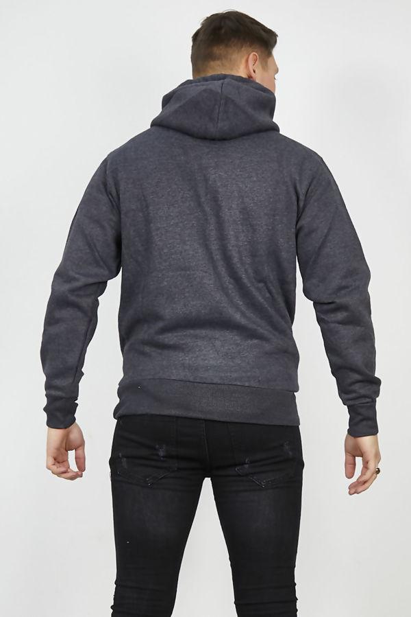 Charcoal Flex Fleece Pullover Hoodies
