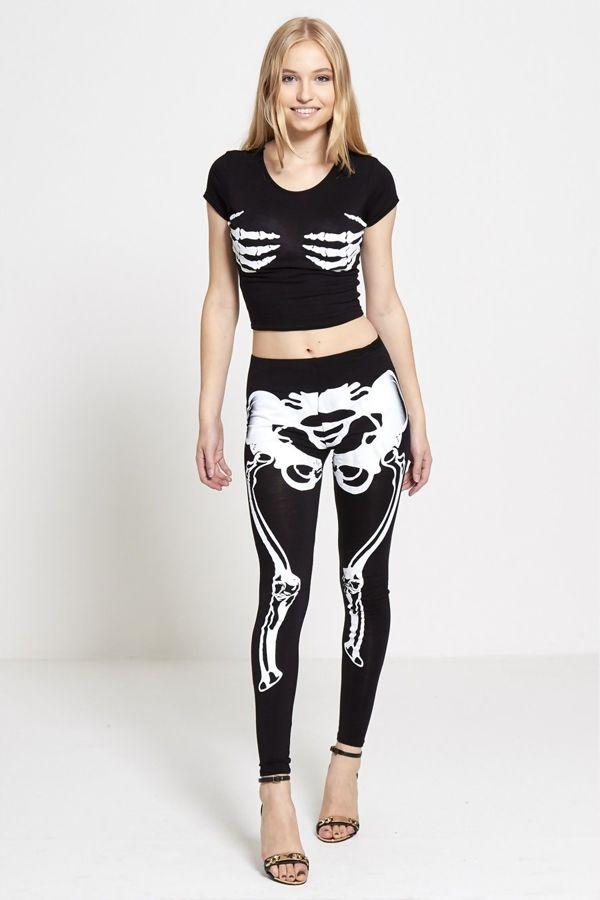 Halloween Skeleton Leggings
