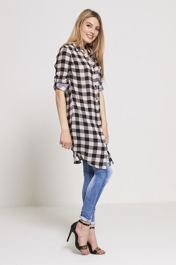 Paris Mon Amour Checked Shirt