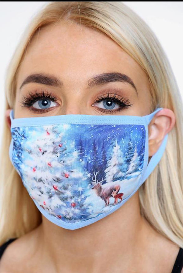 Christmas & New Year Face Mask