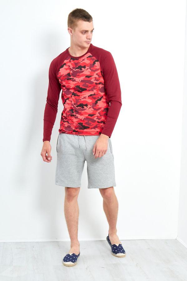 Camo Raglan T-Shirt