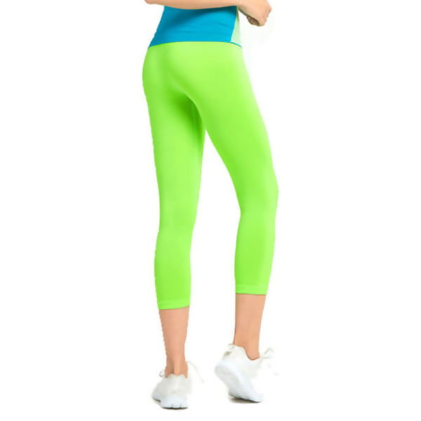 Apple Green Stretchable Leggings