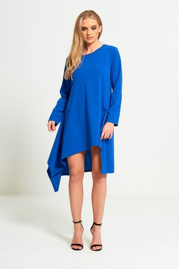Asymmetrical Tail Dress