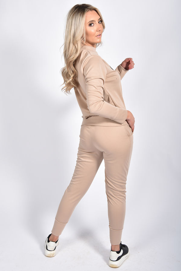 Beige VOGUE Loungewear Set