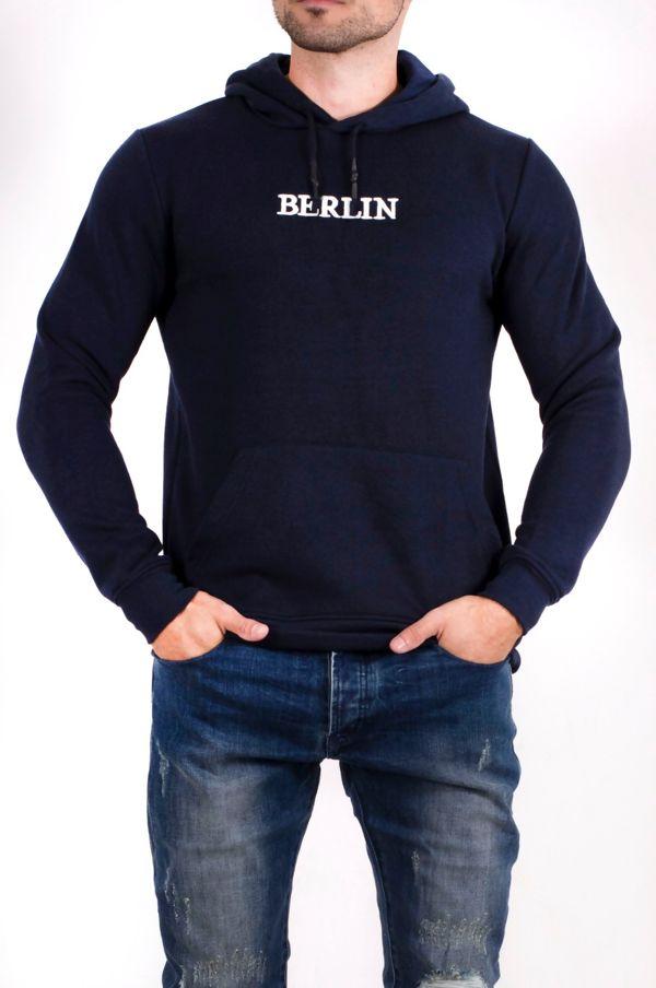 Berlin Slogan Hoodie