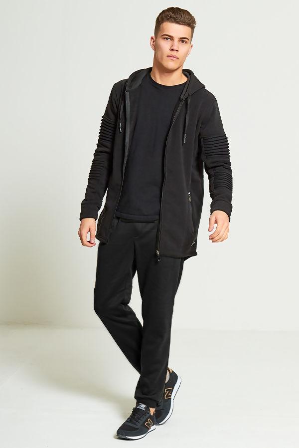 Black Basic Cuff Jogger