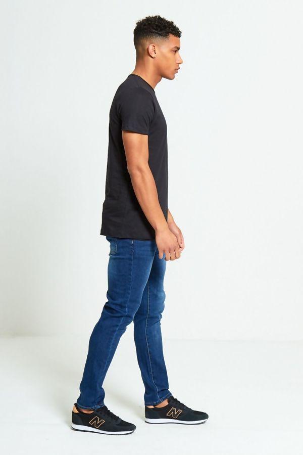 Black Basic Loose Fit T-Shirt