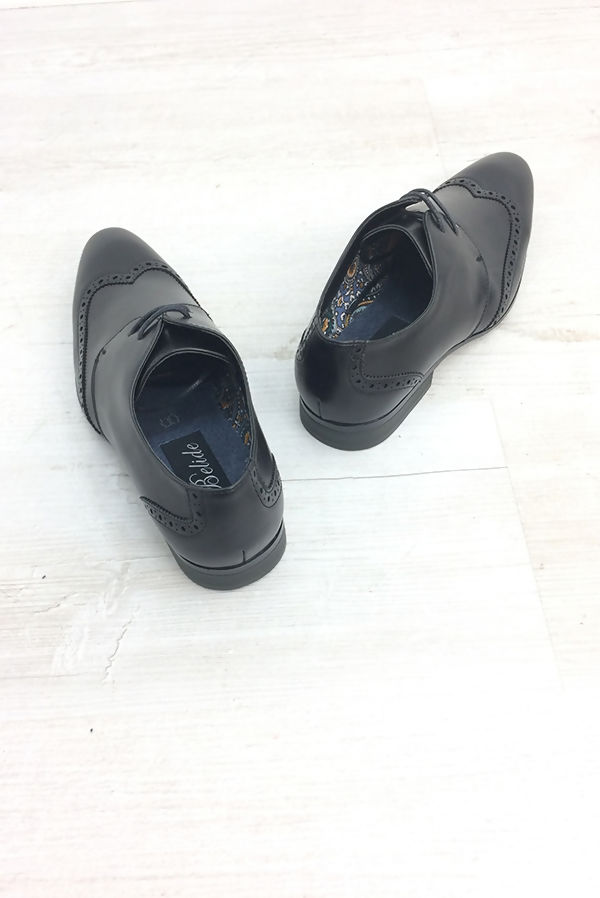Black Classic Leather Shoes