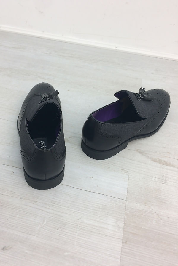 Black Classic Slip On Shoes