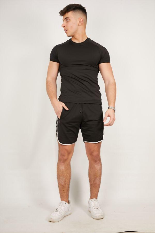 Black Diamond Greek T-Shirt and Short Set
