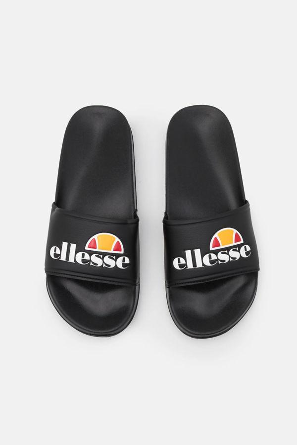 Black Ellesse Duke Sliders