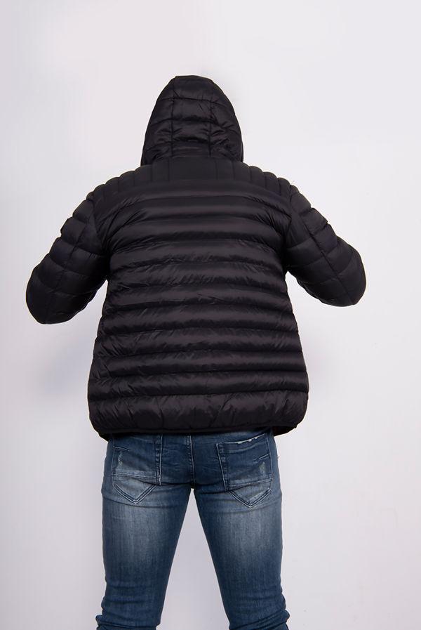 Black Lightweight Fetlar Puffer Jacket