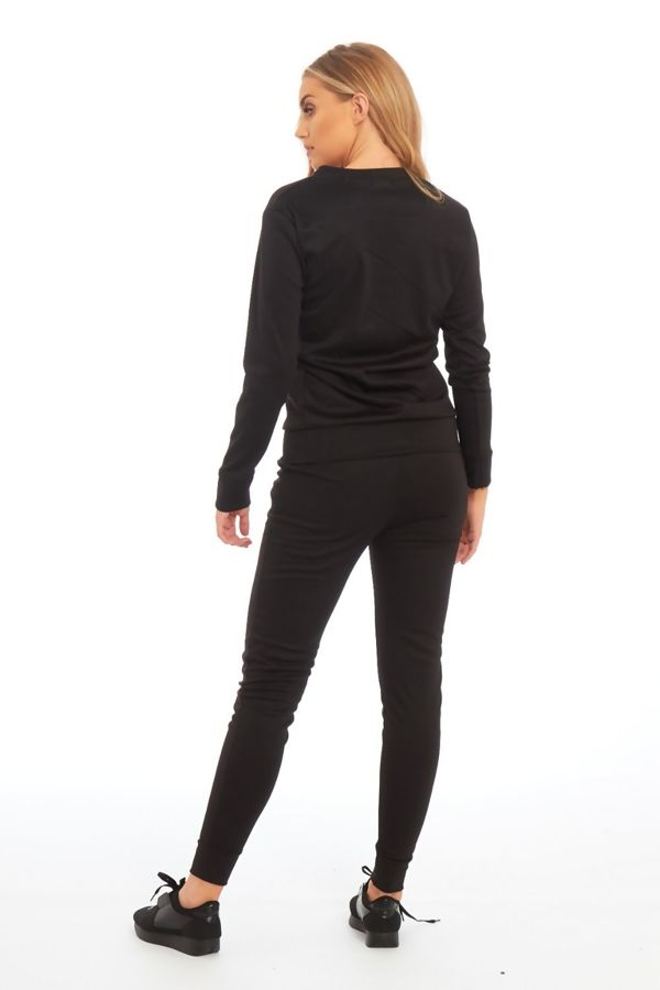 Black Nothing To Declare Customized Tracksuit