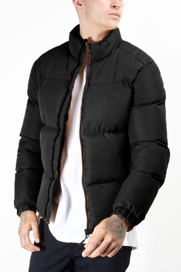 Black Padded Puffer Jacket