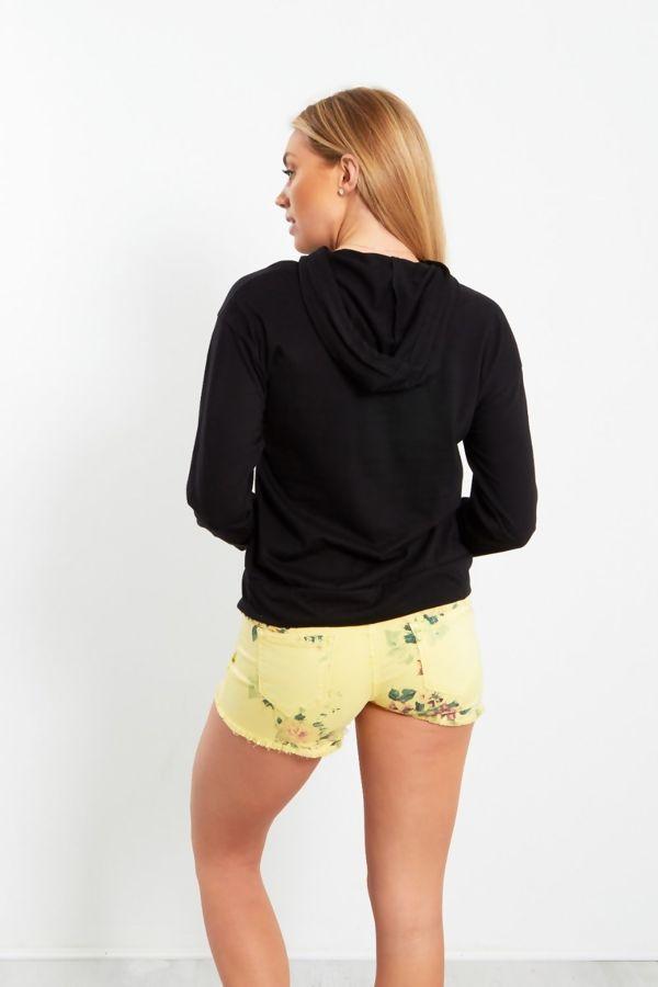 Black Pullover Top