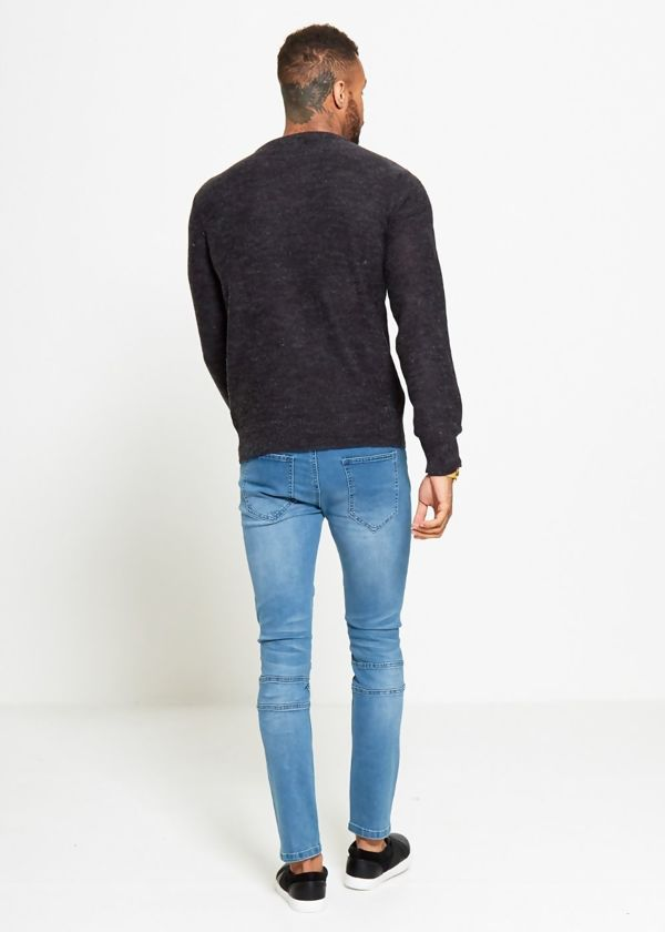 Black Sample Knitted Jumper