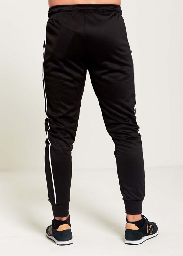 Black Side Stripe Jogging Bottom