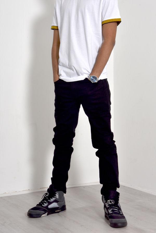Black Skinny Fit Basic Jean