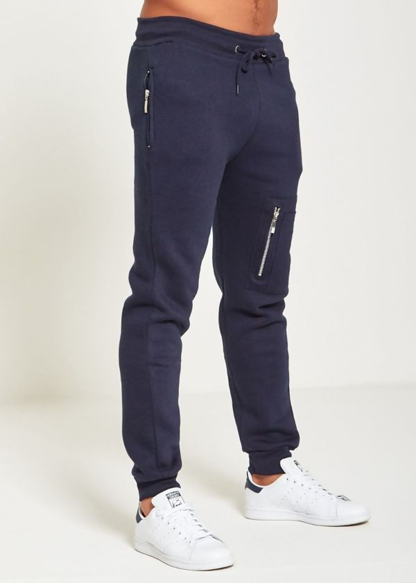 Black Skinny Fit Jogging Bottom