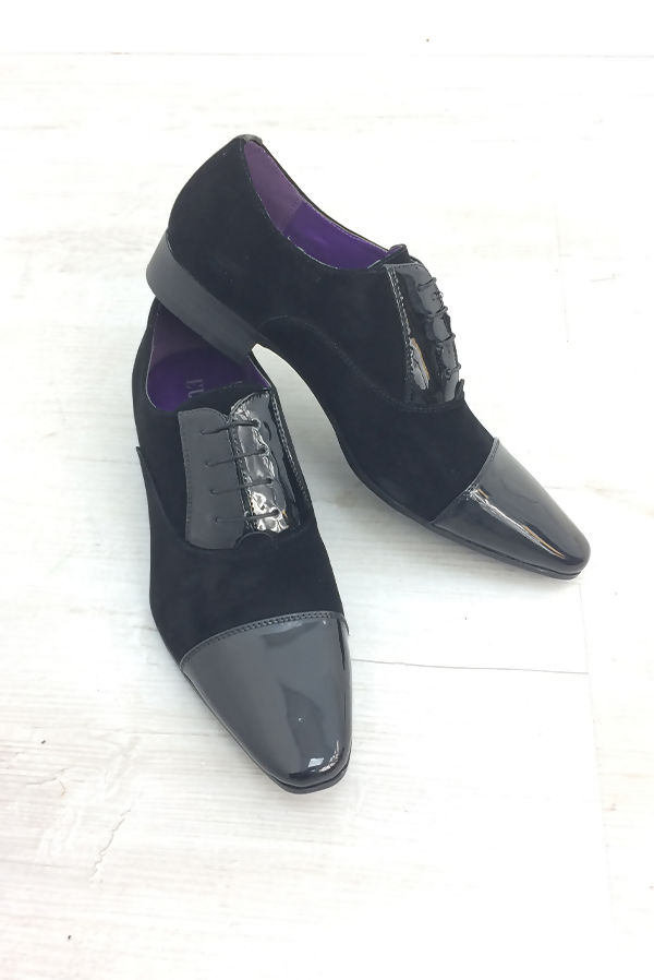 Black Suede Classic Shoes