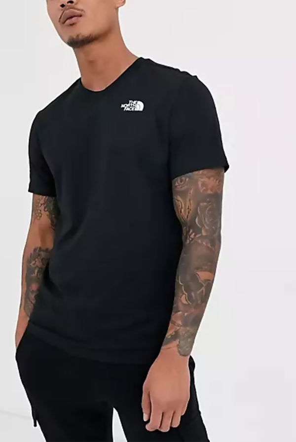 Black The North Face® Red Box Celebration Tee